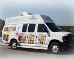 Combata la gripe con las clínicas móviles Oklahoma Caring Vans