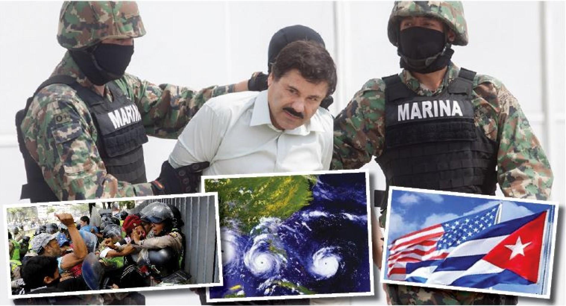 Noticias que Impactaron América Latina en 2017