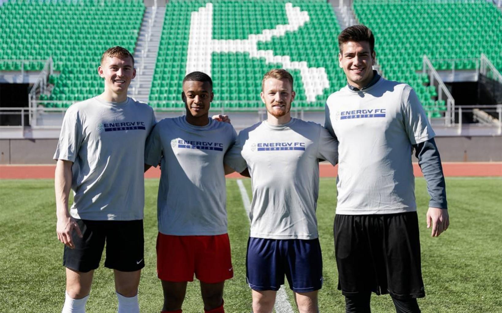 Entrenadores seleccionan cuatro destacados Jugadores - Energy FC