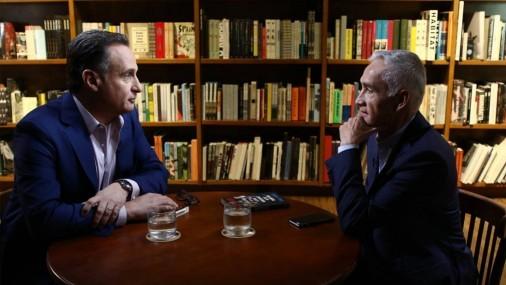 Histórica Conversación  entre José Díaz-Balart y Jorge Ramos