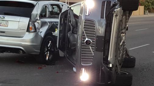 El fatal accidente del vehículo autónomo de Uber amenazará la industria?