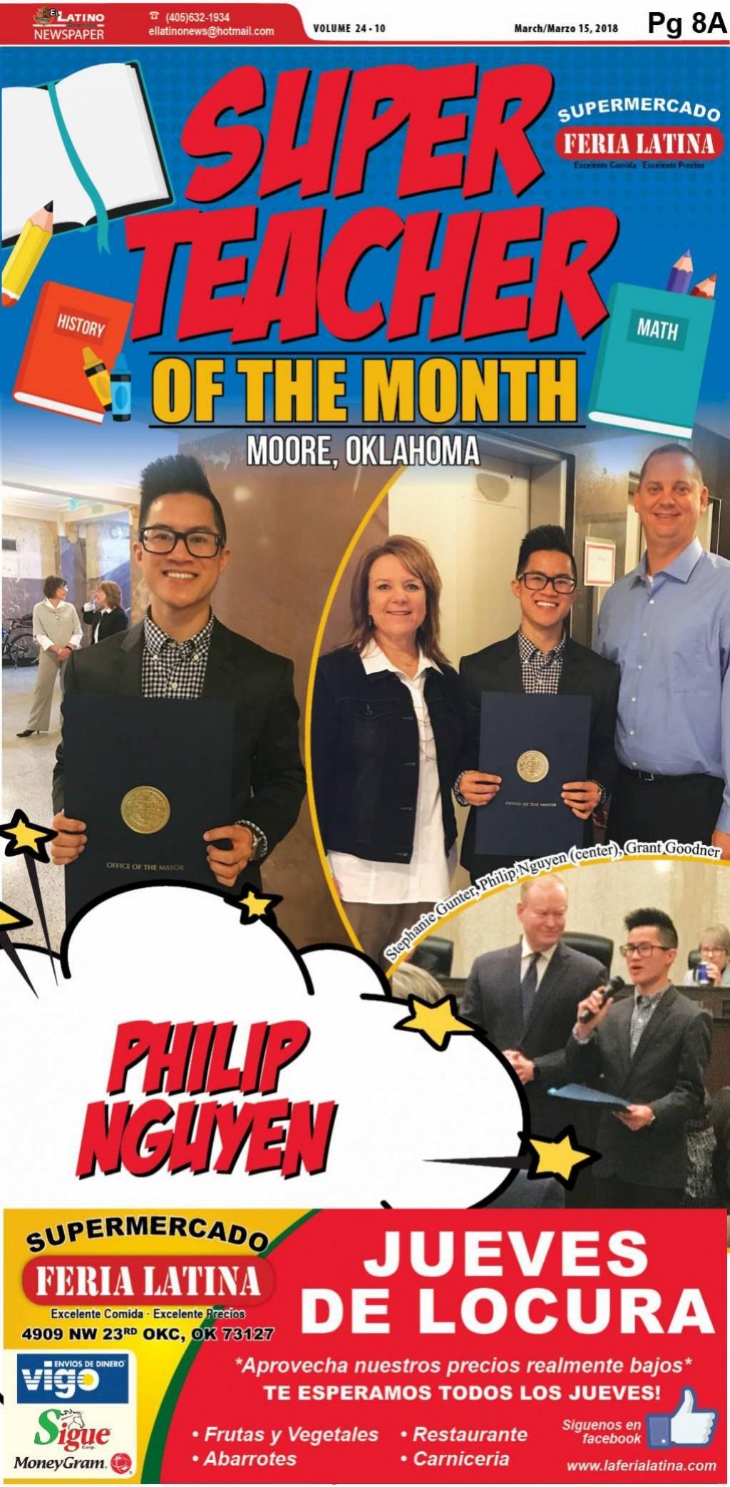 Super Teachers of the Month: Philip Nguyen