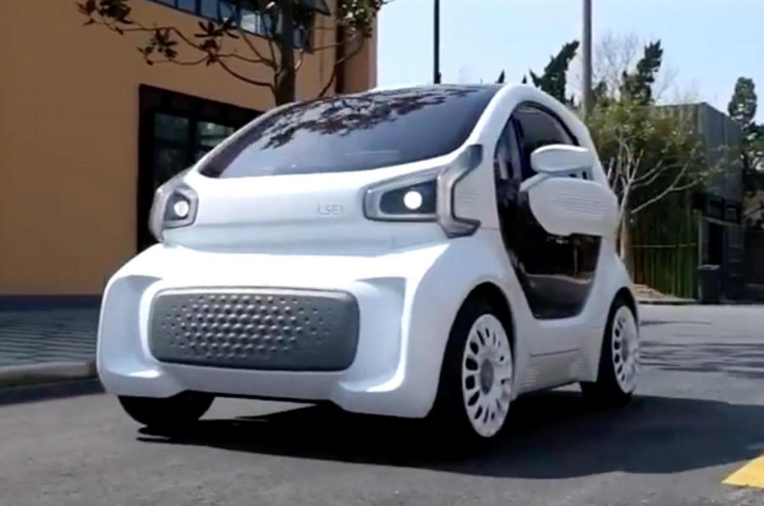 Los vehículos impresos en impresoras 3D ya  son una realidad