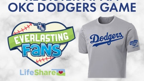 OKC DODGERS PARTNER WITH LIFESHARE TO ENCOURAGE ORGAN DONATION