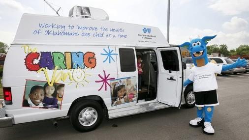 Clínicas Móviles  Caring Van  Calendario de Junio en OKC
