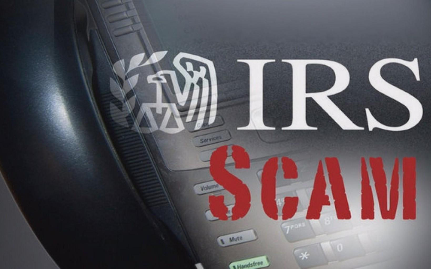 Reporte  a estafadores que dicen ser del IRS