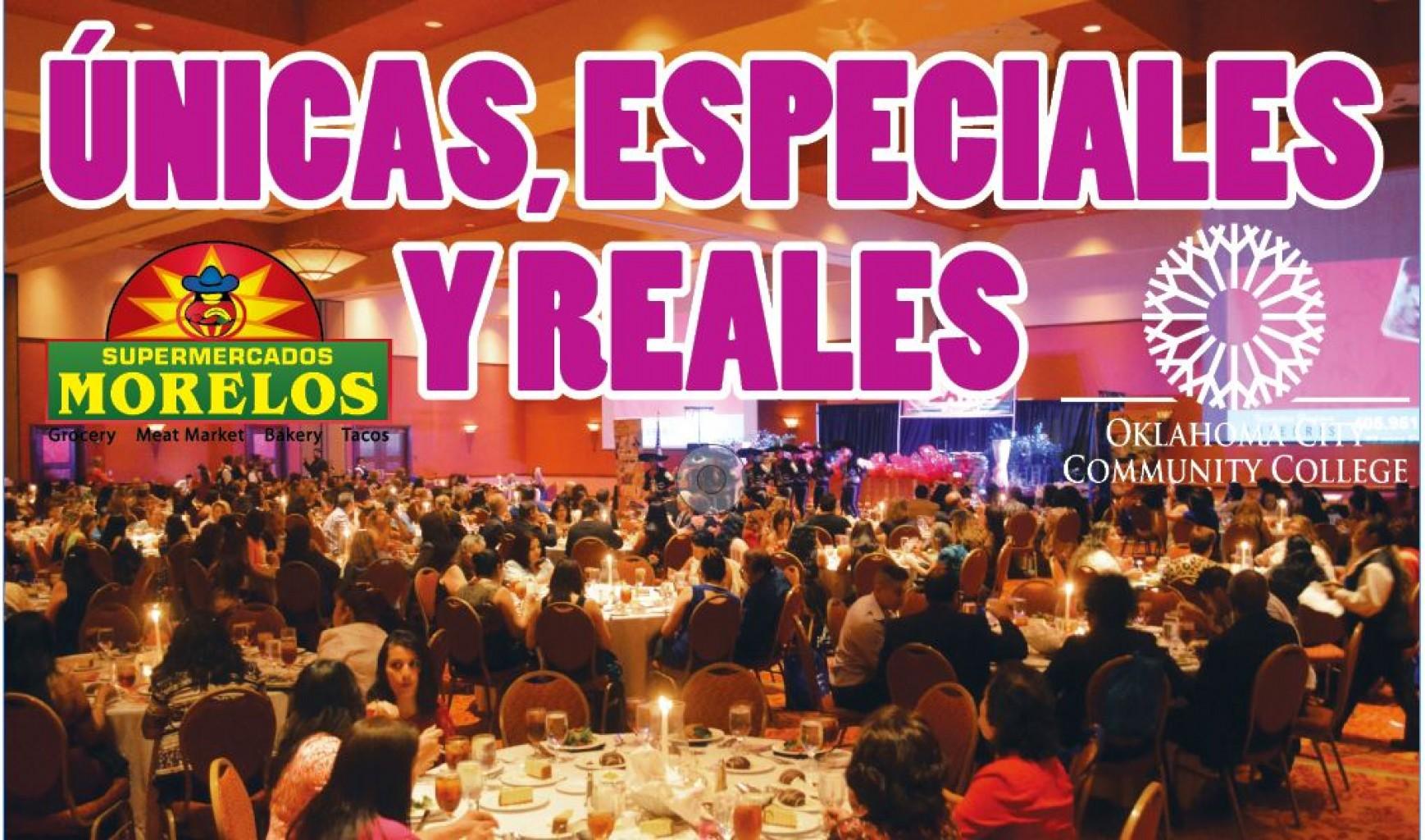 ÚNICAS, ESPECIALES  Y REALES