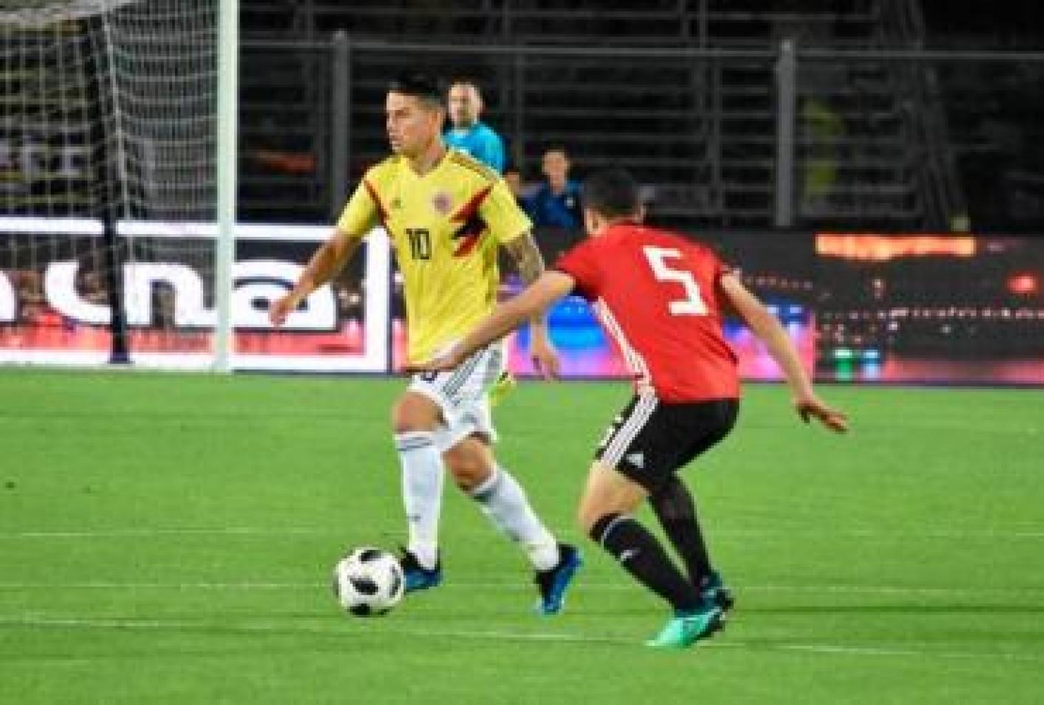 Colombia con dudas luego de empatar ante Egipto en un compromiso amistoso