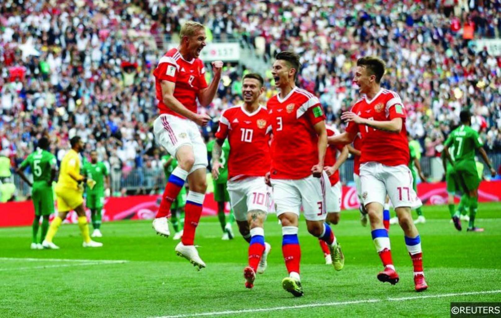 Rusia 3-1 Egipto: El anfitrión acaricia los octavos de final