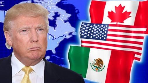 Trump defiende política comercial con China, Canadá y México
