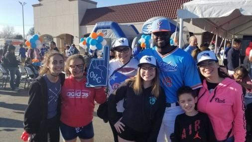 Oklahoma City Dodgers CIELO AZUL DE OKLAHOMA CITY
