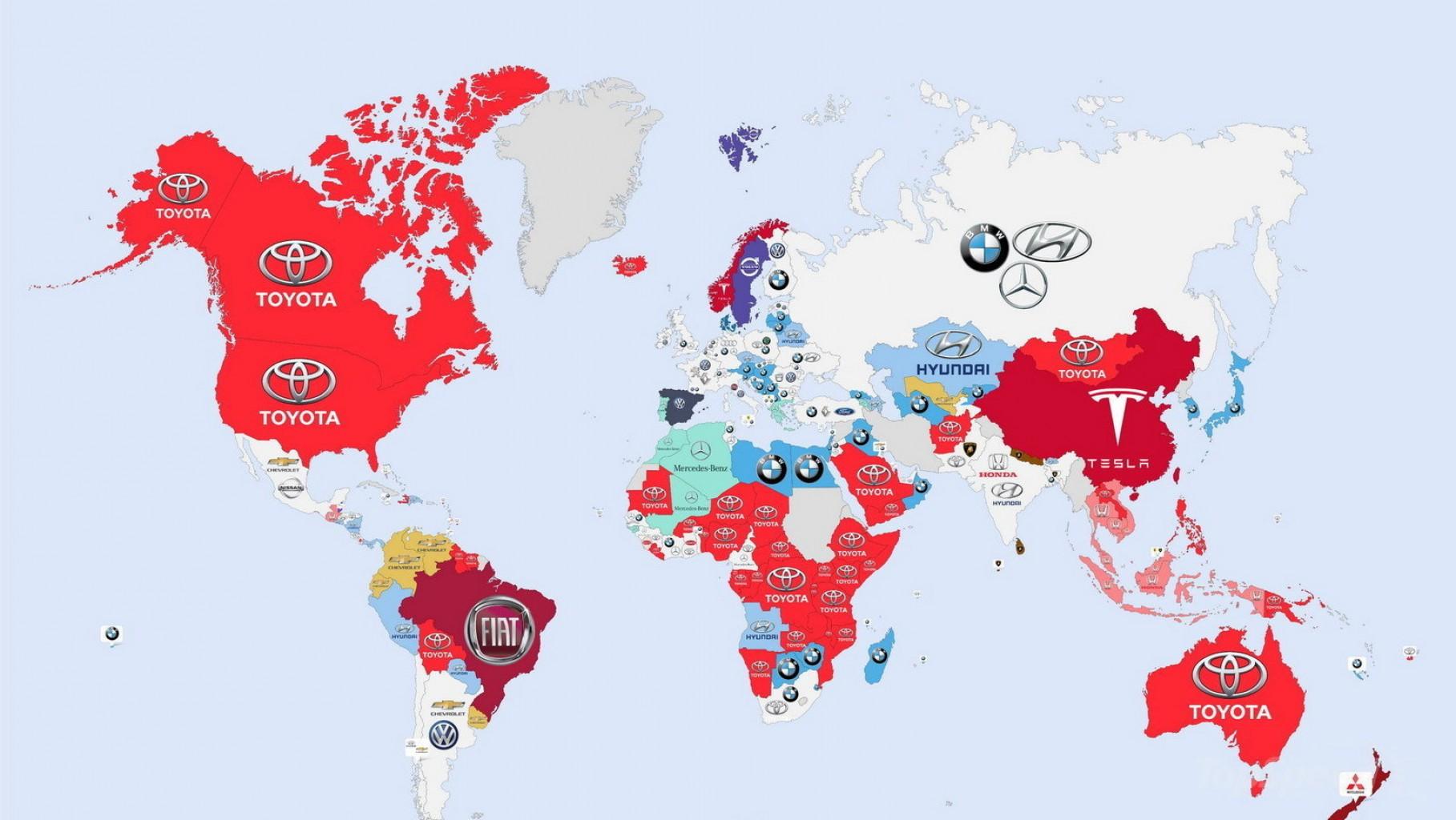 Cuáles son las marcas de automóviles más buscadas en el mundo virtual
