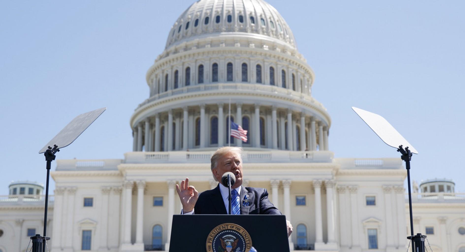 Arrebatos de Trump cuestionan credibilidad de la Casa Blanca