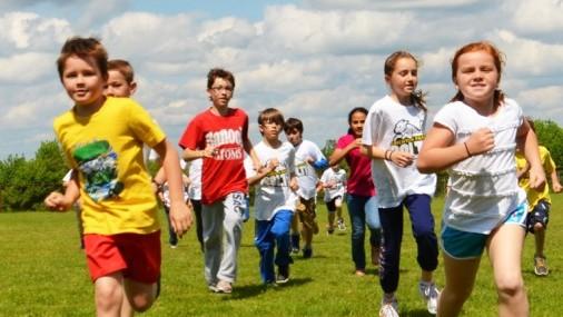 Van Buren Elementary School Students Raced to Fight Hunger