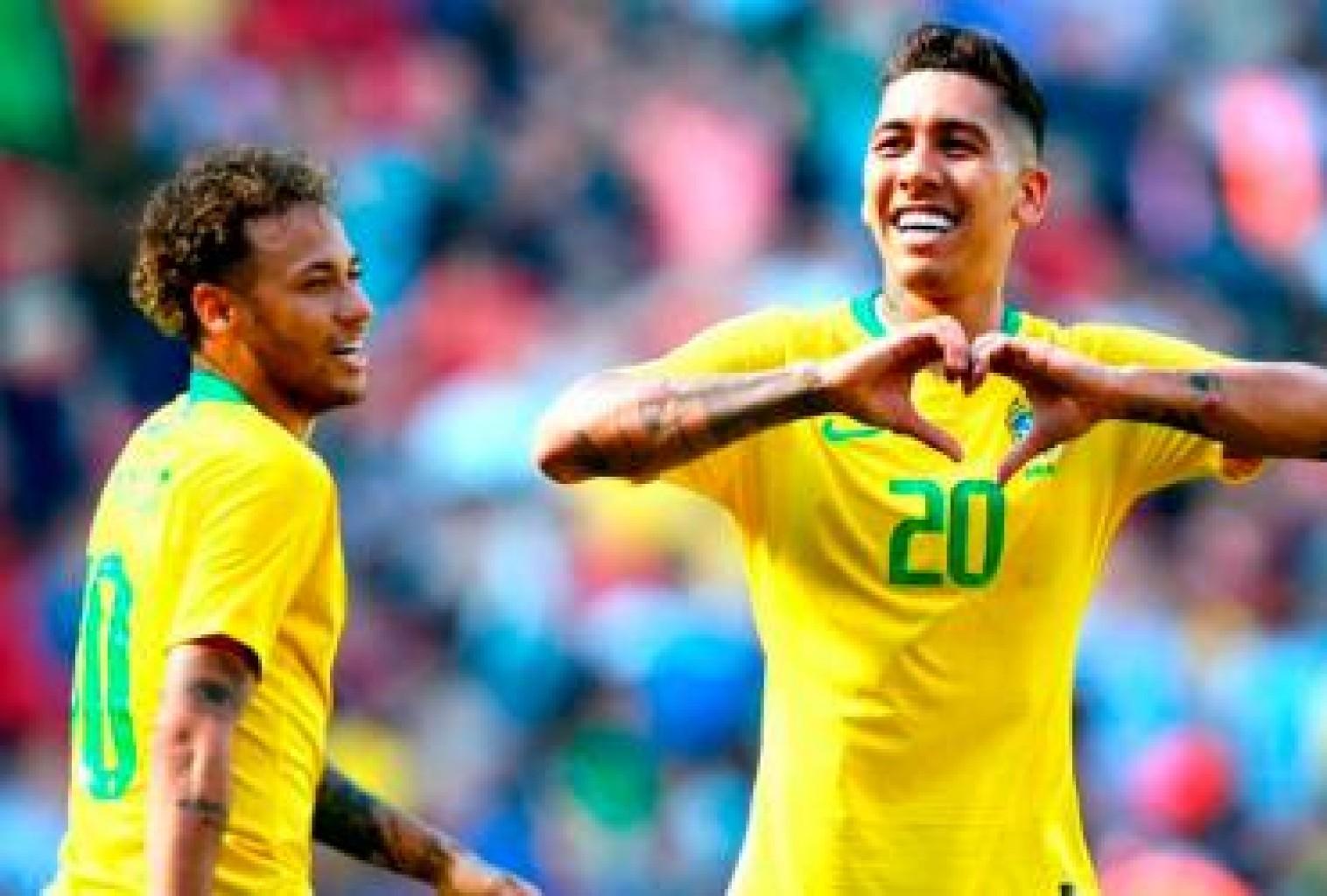 En Brasil todo es alegría  luego de su victoria ante Croacia y el retorno con gol de Neymar