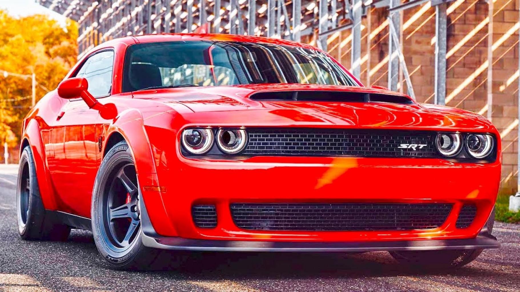 Dodge dió el toque al último modelo de producción de su  bestia de  840 caballos de fuerza