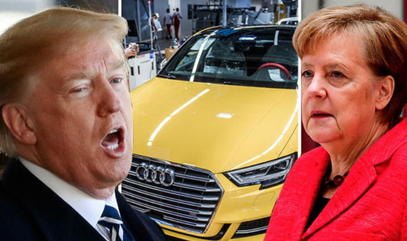 Trump quiere darle una zancadilla a los Autos de lujo Alemanes