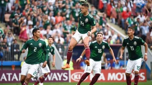 """México agradece a Corea y pasa a """"octavos"""" de manera dramática en Rusia"""
