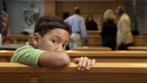 SIGUEN A LA ESPERA: Niños de hasta 1 año en corte, esperando el reencuentro con la familia