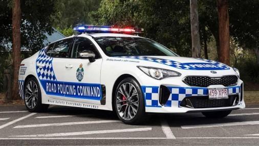 La policía Australiana ya depende del Kia Stinger como su aliado