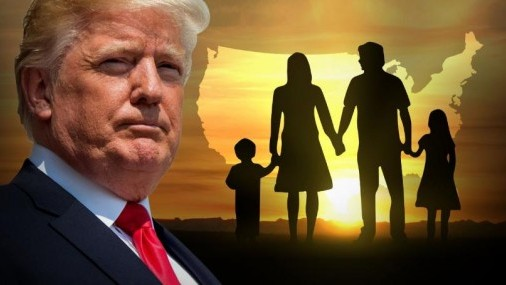 Trump dice que agenda ,Migratoria impulsará a Republicanos
