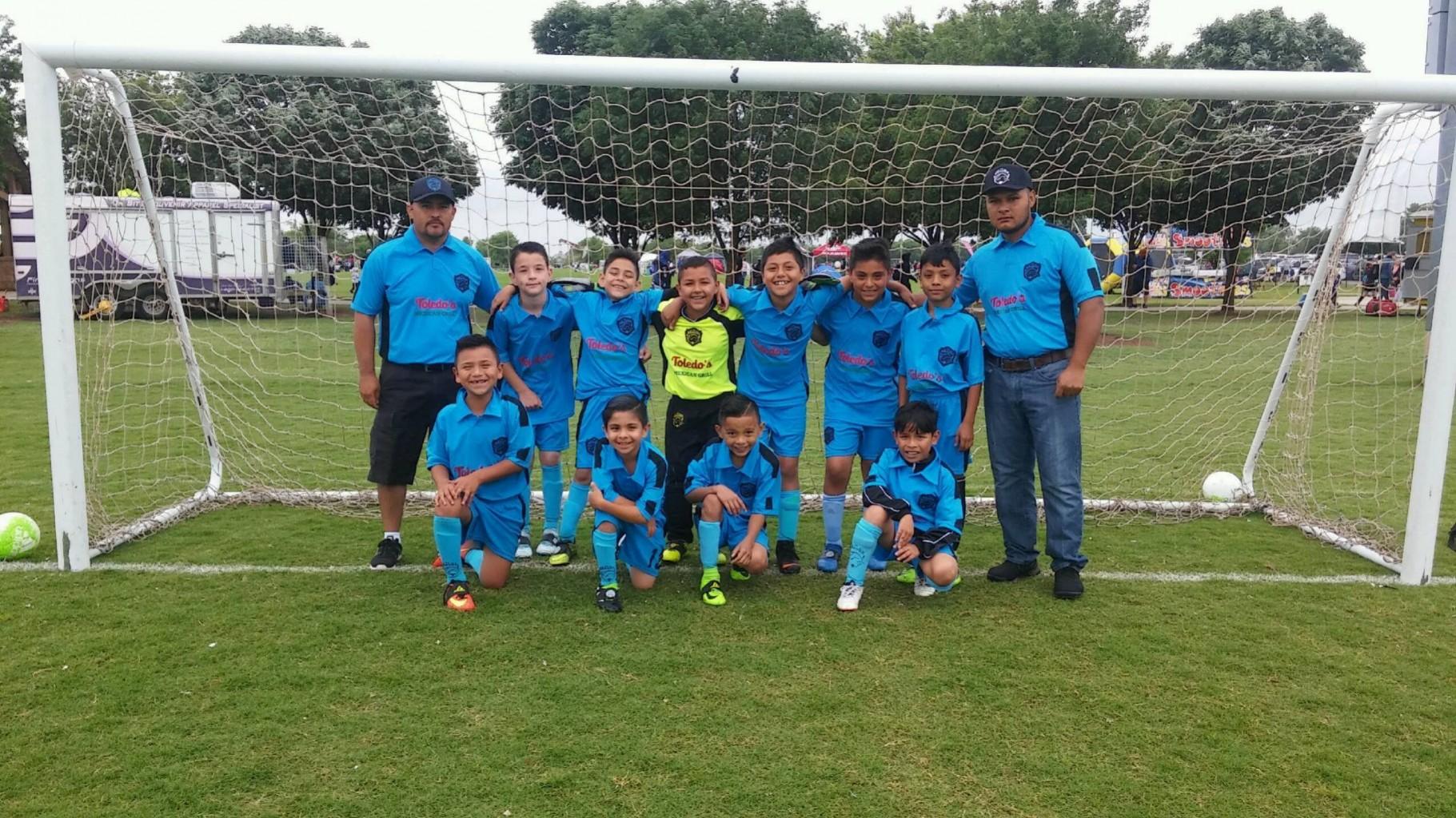 "Los Campeones ""NORTHWEST""  Optimos Bravos FC  U8 , U10"