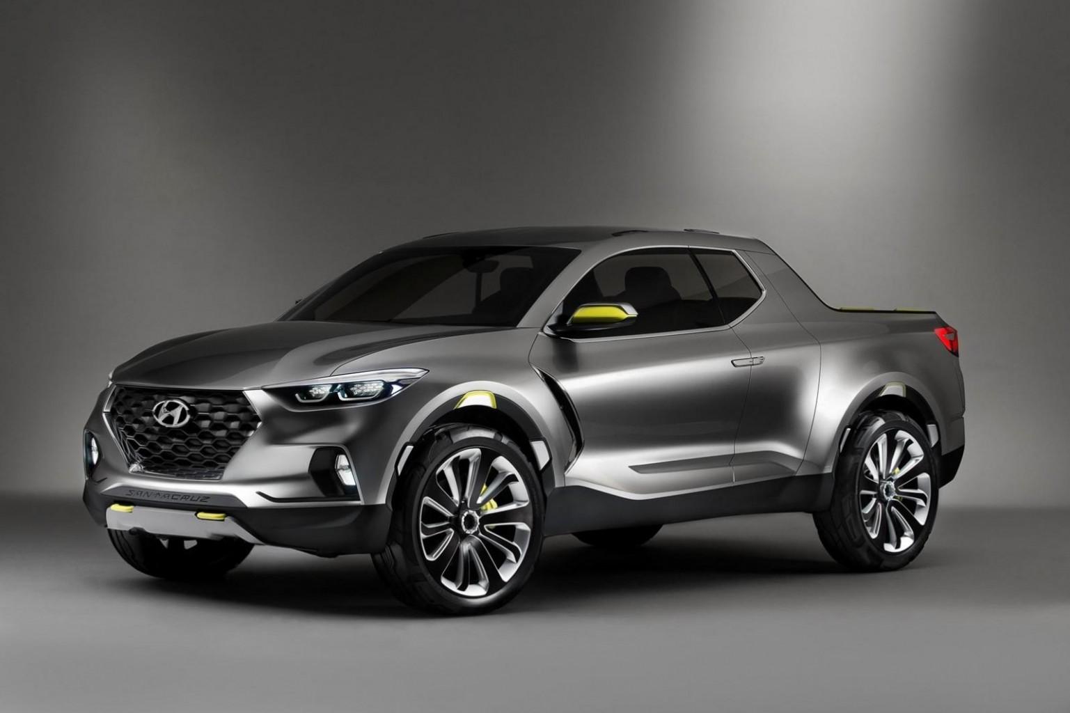 Hyundai asegura que la pick up Santa Cruz saldrá a la venta entre el 2020 y el 2021