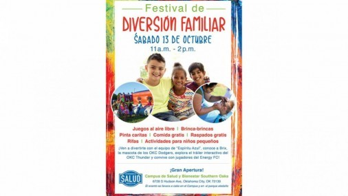 ¡El Festival de Diversión Familiar, está a la Vuelta de la esquina!