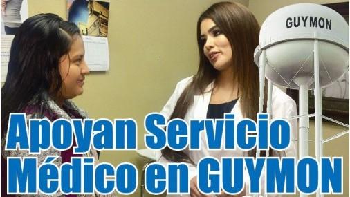 Apoyan implementación de Servicio Médico en GUYMON