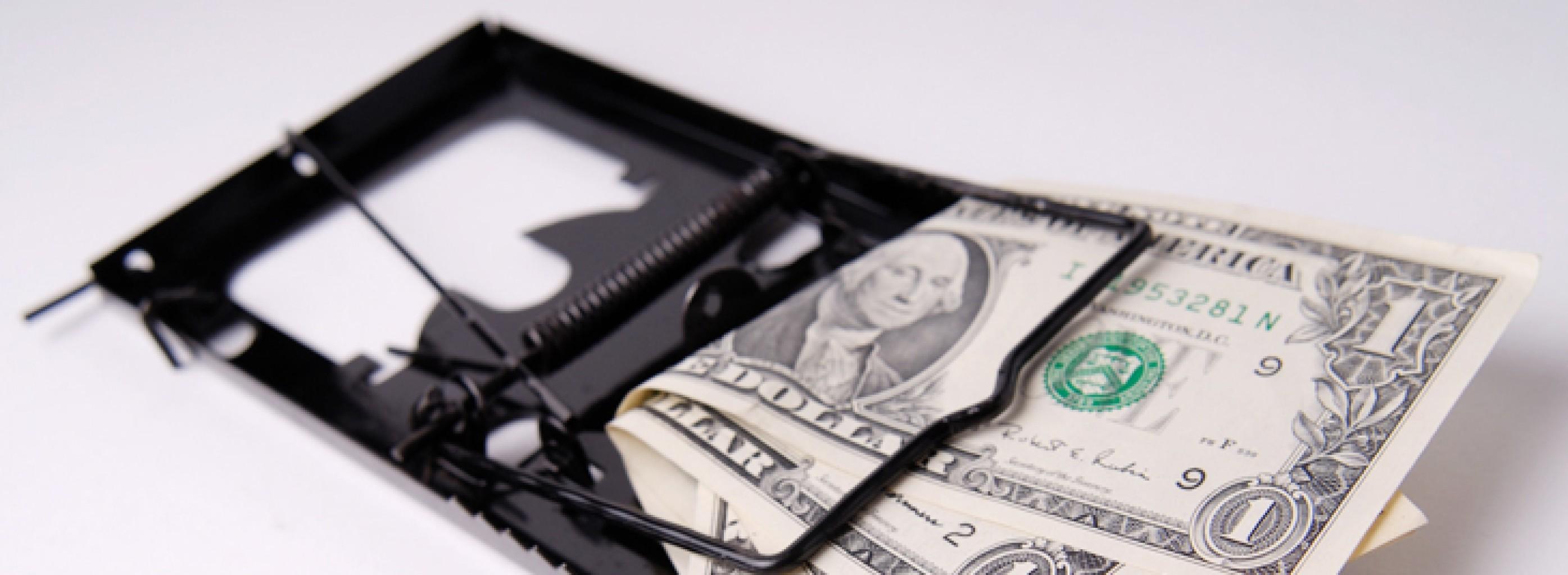 5 Trampas financieras y cómo evitarlas