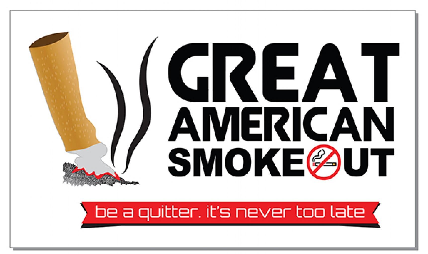 El 43vo Evento Anual Great American Smokeout