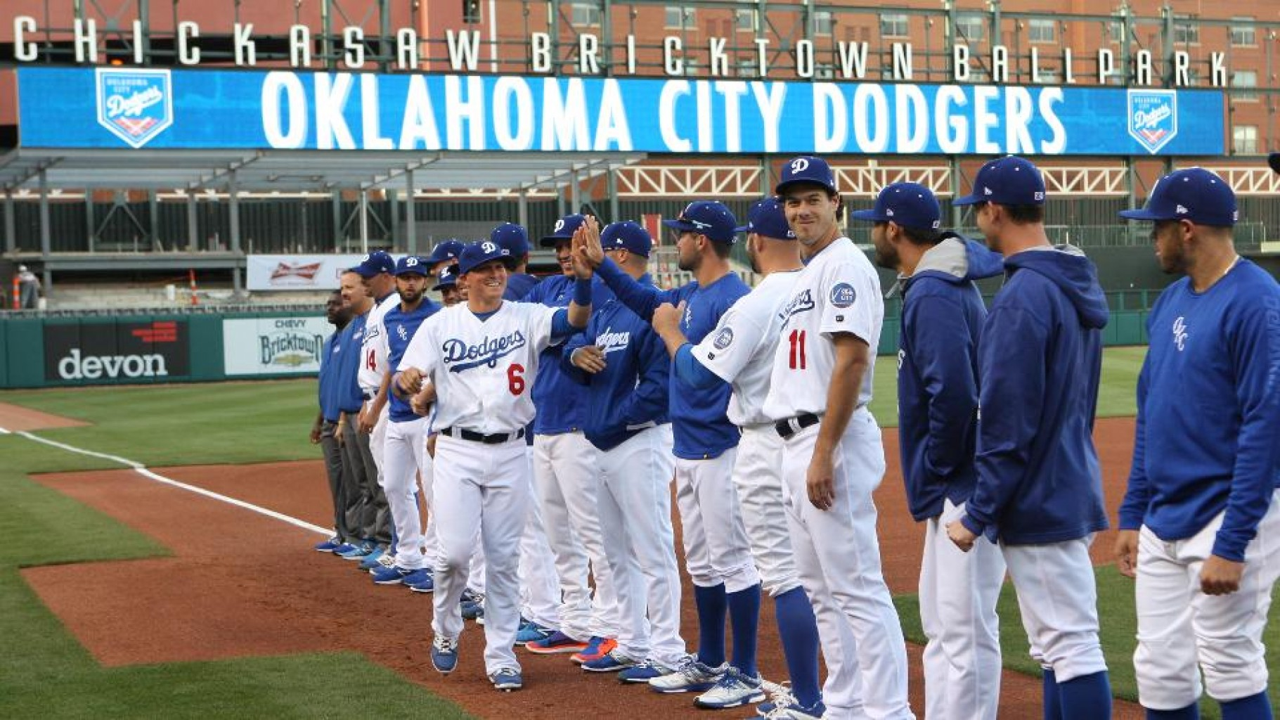 OKC DODGERS NAMED  2018 TRIPLE-A WINNER OF BOB FREITAS AWARD