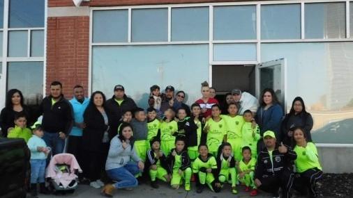BRAVOS FC U8 y U10  Compartiendo Felicidad incentivando el Deporte