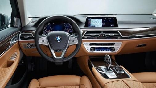 BMW le dió un cambio de imagen a la Serie 7 del 2019