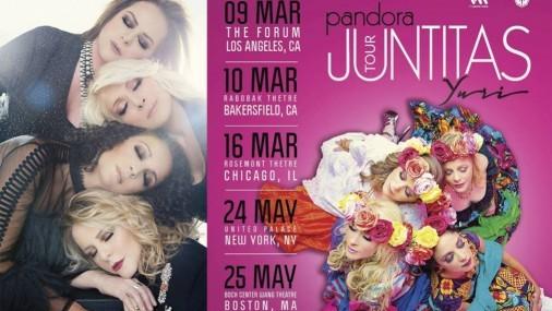 Pandora y Yuri continúan en EEUU su gira Juntitas