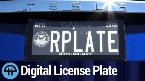 Para que sirven las nuevas placas digitales en los autos, ya aprobadas en varios Estados