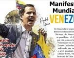 Manifestación Mundial Por  Venezuela