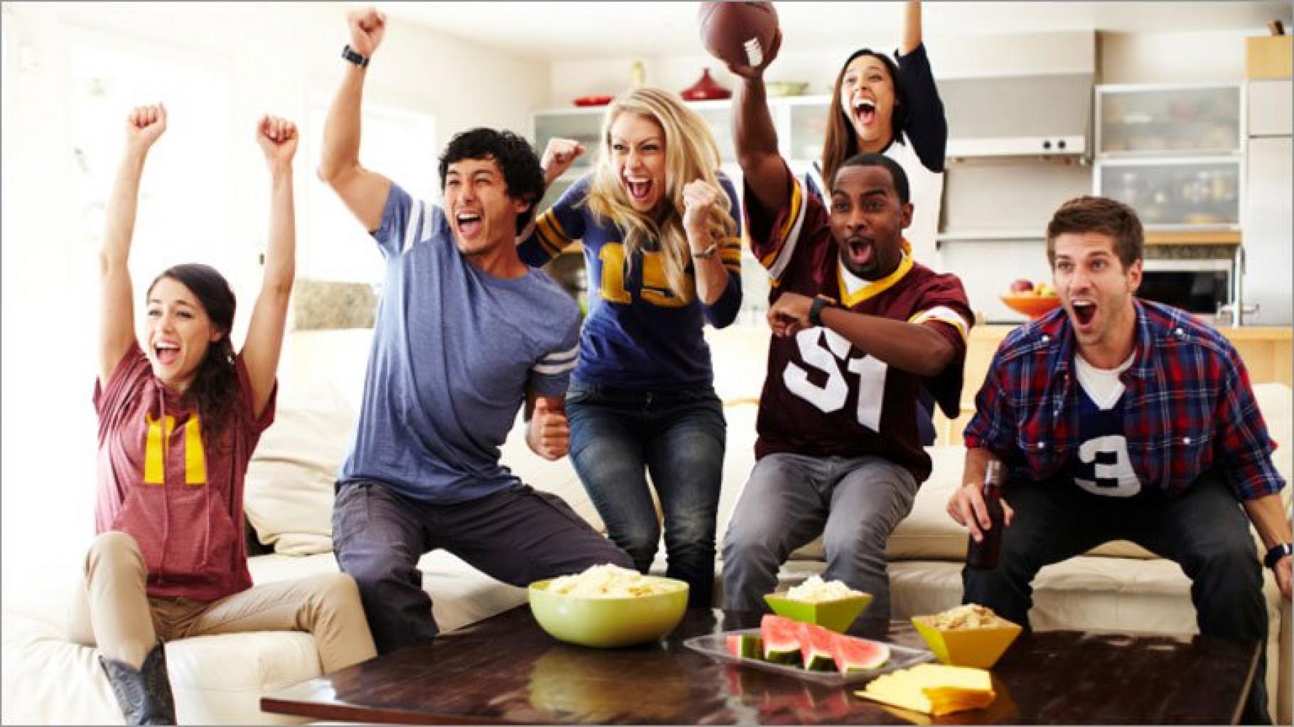 Cómo organizar una  fiesta del Súper Bowl sin gastar
