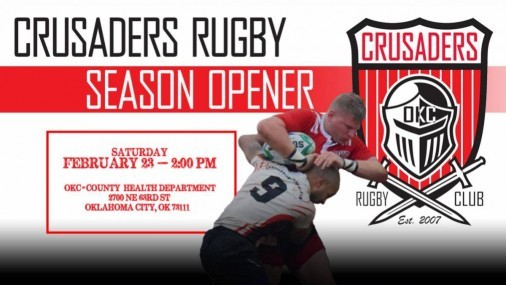 ENERGY FC TO HOST OKC CRUSADERS RUGBY CLUB MATCHES