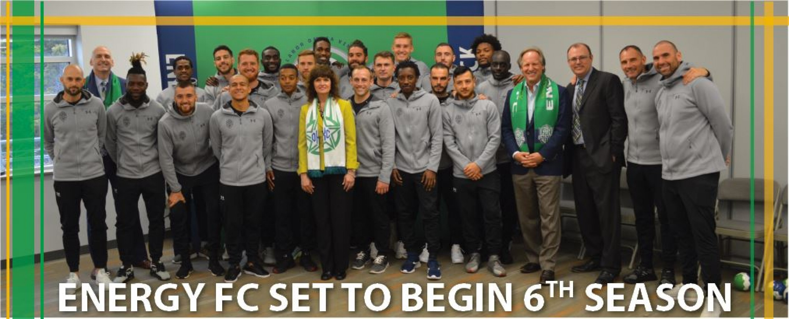 ENERGY FC SET TO BEGIN 6TH SEASON