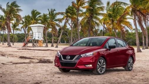 A toda música  Nissan presentó el Versa del 2020