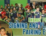 Energy FC 2019  Signing and Player Pairing Event