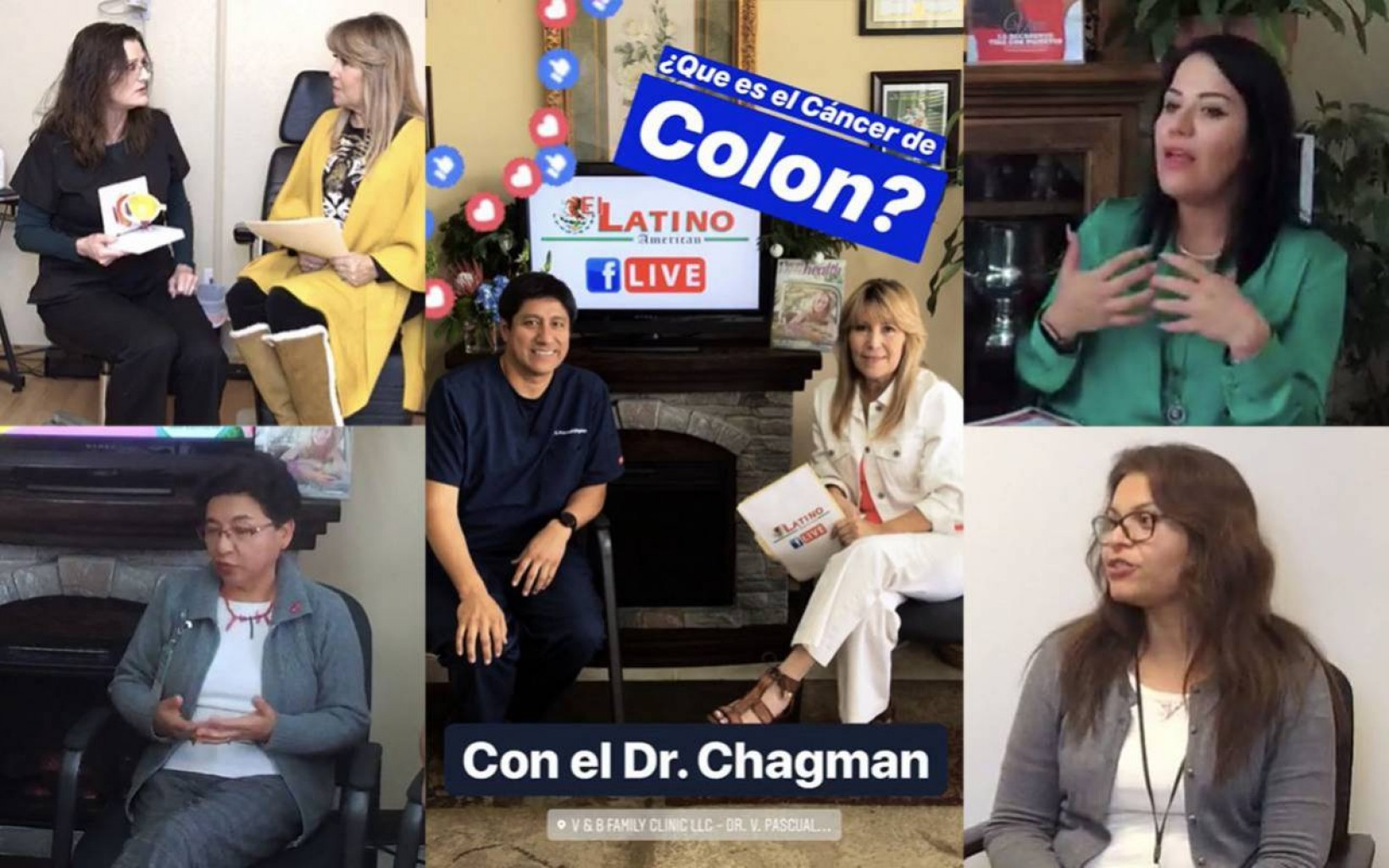 """""""Jueves de Salud""""  El Latino American Facebook LIVE"""