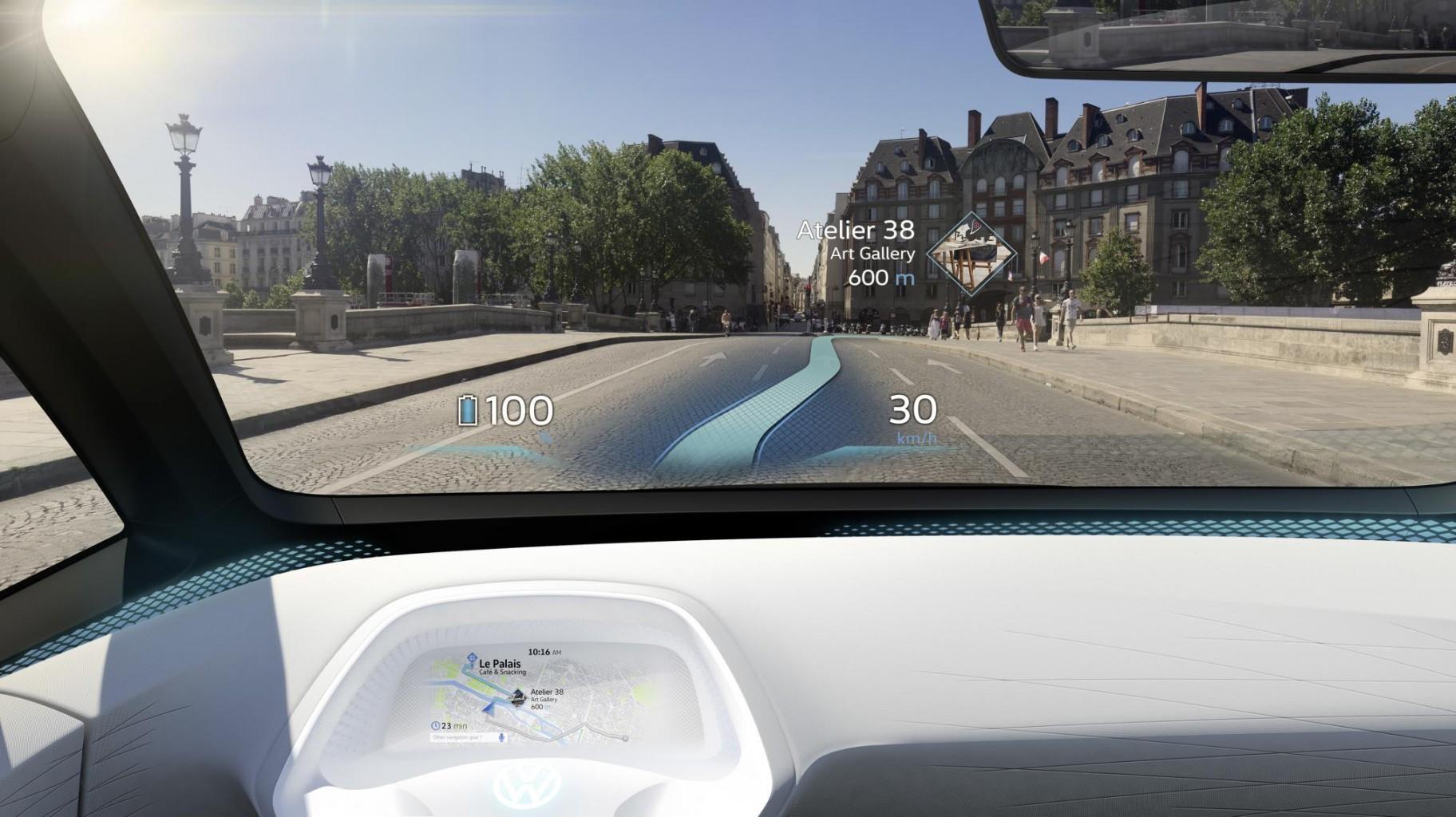 De que manera los parabrisas 3D cambiará información Visual