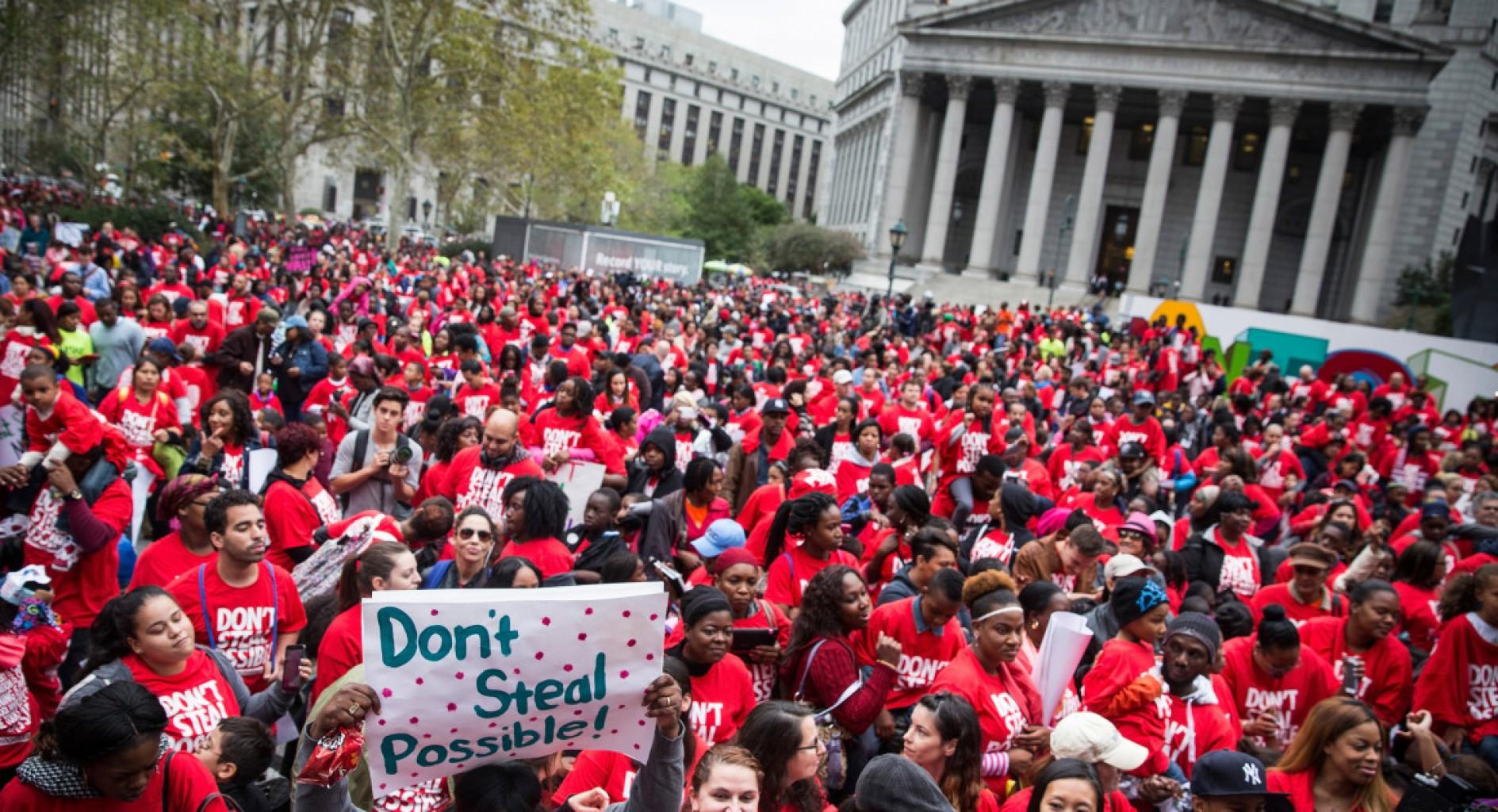 D.C. charter school movement rally