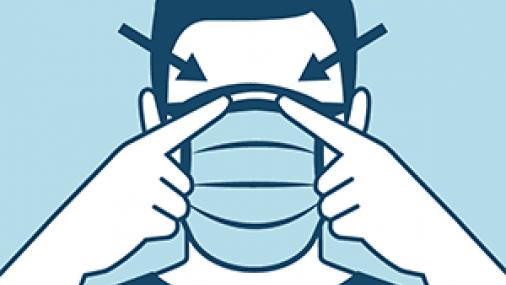 Hecho o Ficción: Una máscara facial no puede impedir me contagie  COVID-19, pero puedo ayudar a reducir la propagación usando una.