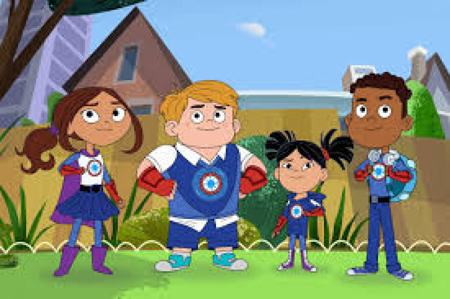 HERO ELEMENTARY una escuela de  superhéroes DISPONIBLE en PBS KIDS