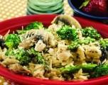 Receta de la Semana: Pasta con pollo, brócoli y espárragos