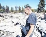 Vientos alimentan las destructivas llamas del noroeste