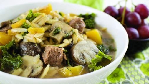Receta de la Semana: Sopa con Carne y  Calabaza Butternut